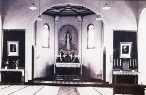 旧聖堂内部