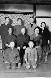 東教会にて 篠原伝道師の送別会